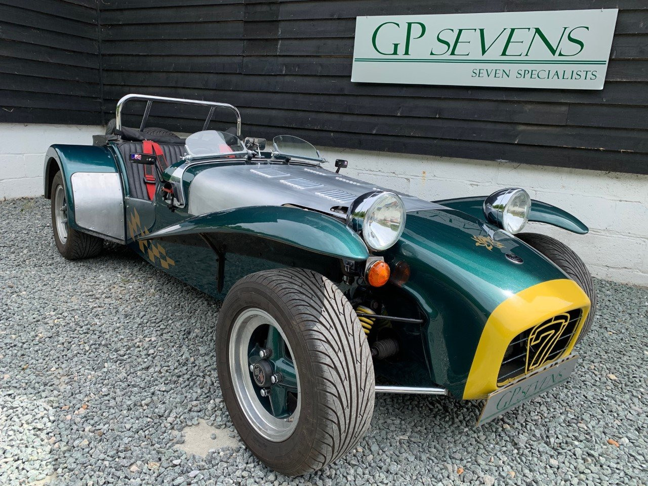 1983 * NOW SOLD * Caterham 1.6 LOTUS Twin-Cam 140bhp 4 speed SOLD (picture 1 of 6)