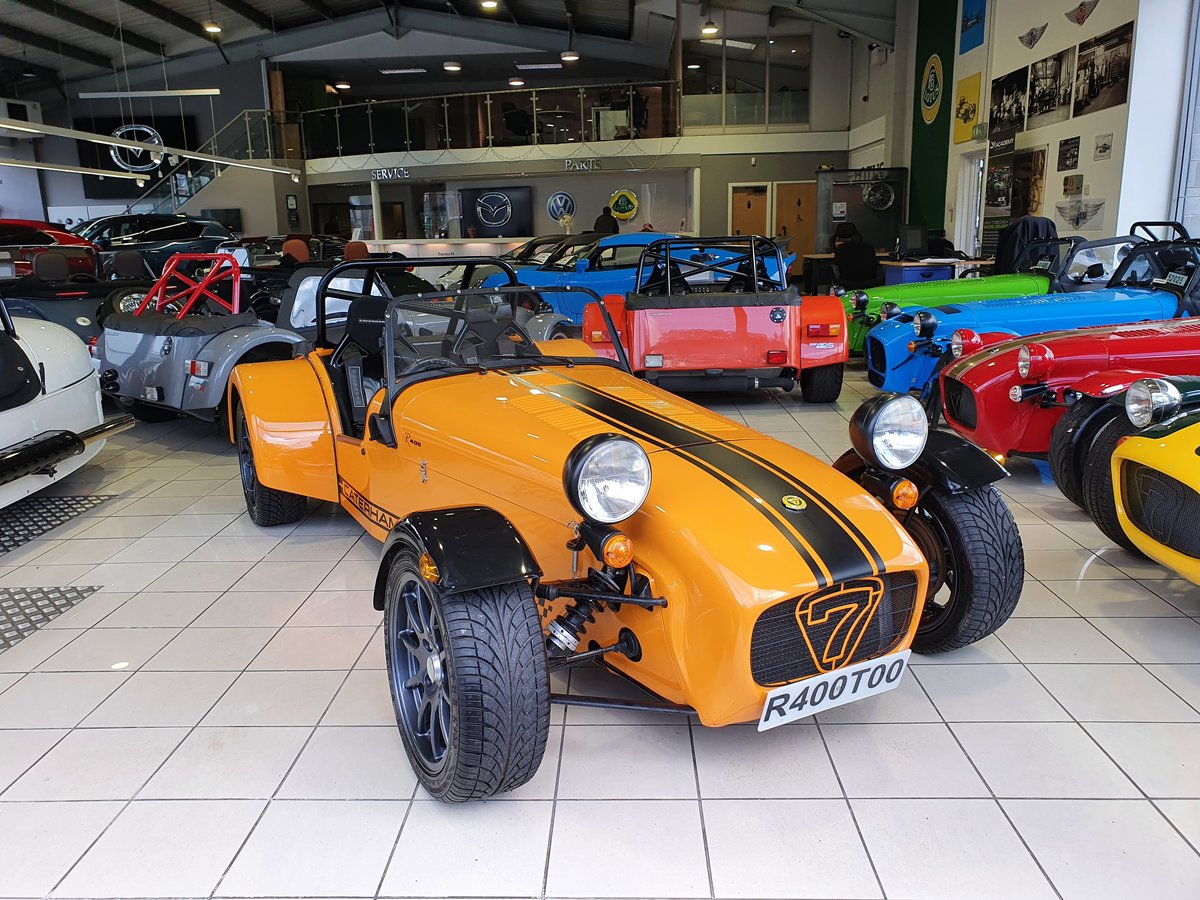 2005 Caterham Seven R400 1.8 K For Sale (picture 1 of 6)