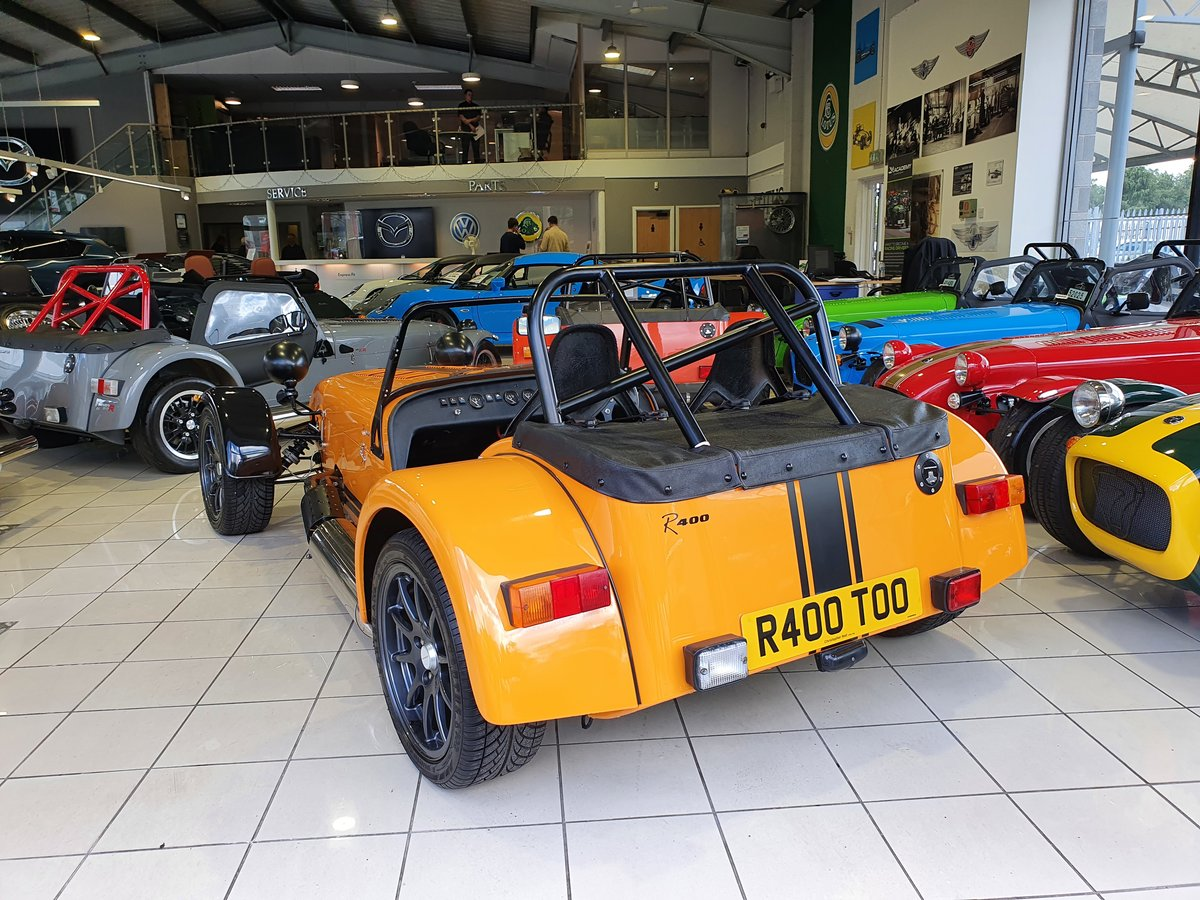 2005 Caterham Seven R400 1.8 K For Sale (picture 2 of 6)