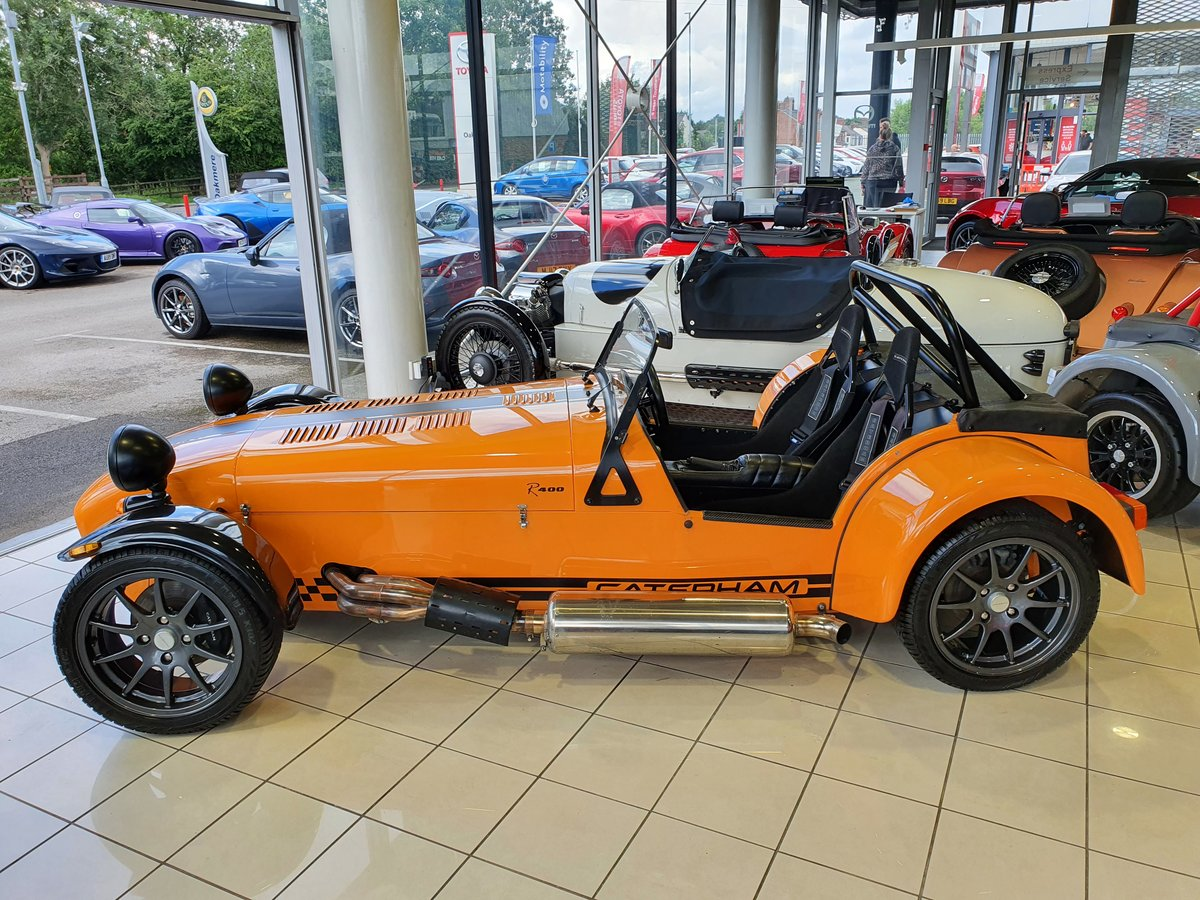 2005 Caterham Seven R400 1.8 K For Sale (picture 3 of 6)