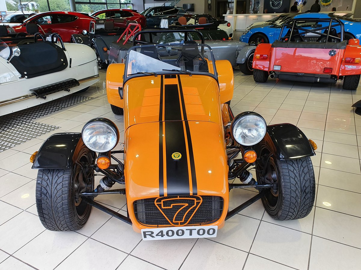 2005 Caterham Seven R400 1.8 K For Sale (picture 6 of 6)