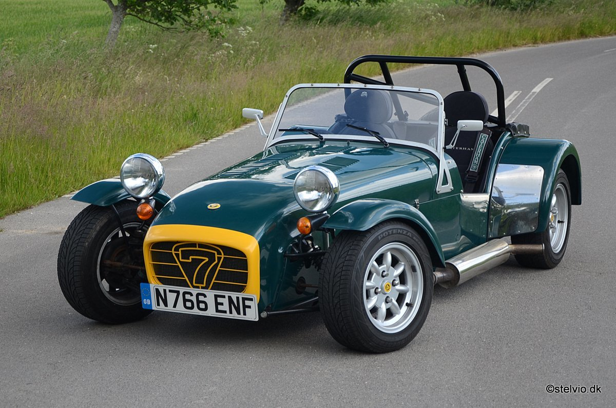 1995 Caterham Seven Roadsport 150 VVC top condition SOLD (picture 1 of 6)