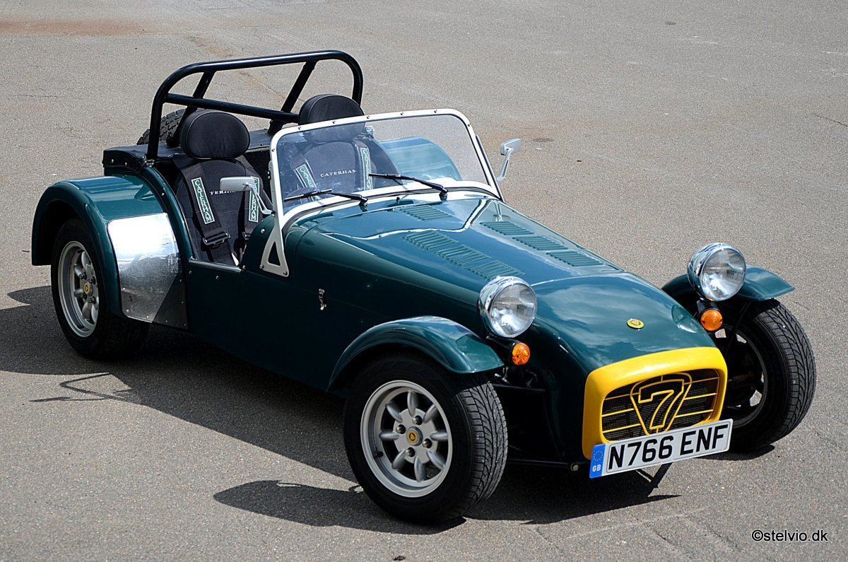 1995 Caterham Seven Roadsport 150 VVC top condition SOLD (picture 3 of 6)