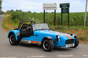 2017 Caterham Seven SV 420R, .  980 miles from new. One Owner