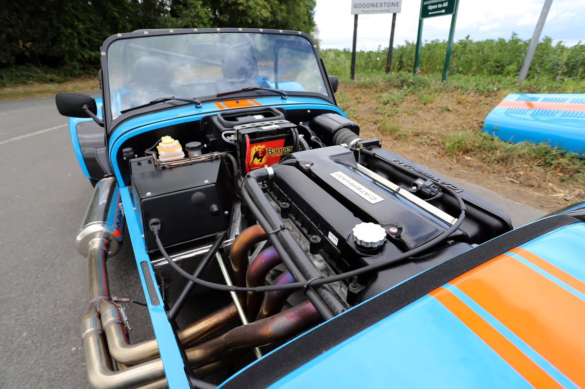 Caterham Seven SV 420R, 2017.  980 miles from new. One Owner For Sale (picture 6 of 6)