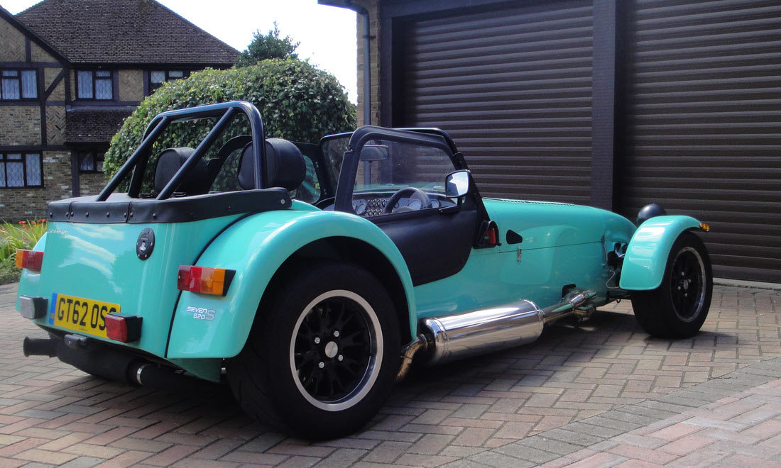 2016 CATERHAM SEVEN 620S For Sale by Auction (picture 1 of 6)