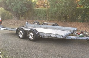 Brianjames clubman car trailer