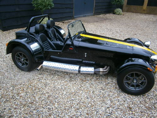 CATERHAM 7 ROADSPORT SIGMA 2012 BLACK & YELLOW  V.LOW MILES For Sale (picture 2 of 6)