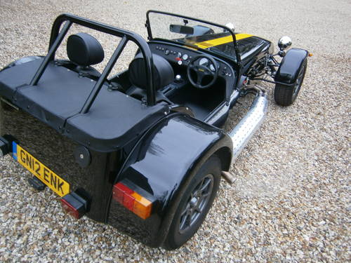 CATERHAM 7 ROADSPORT SIGMA 2012 BLACK & YELLOW  V.LOW MILES For Sale (picture 3 of 6)