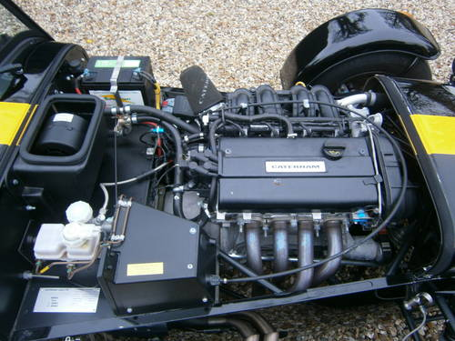 CATERHAM 7 ROADSPORT SIGMA 2012 BLACK & YELLOW  V.LOW MILES For Sale (picture 4 of 6)
