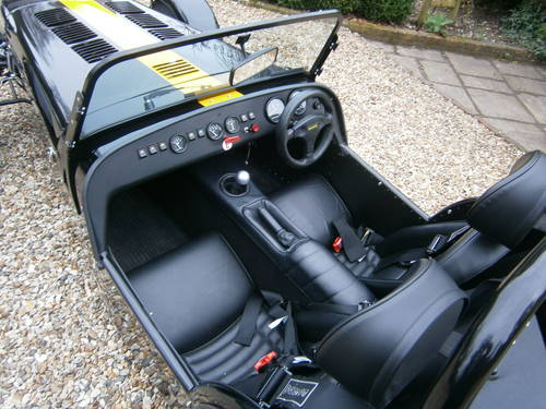 CATERHAM 7 ROADSPORT SIGMA 2012 BLACK & YELLOW  V.LOW MILES For Sale (picture 5 of 6)