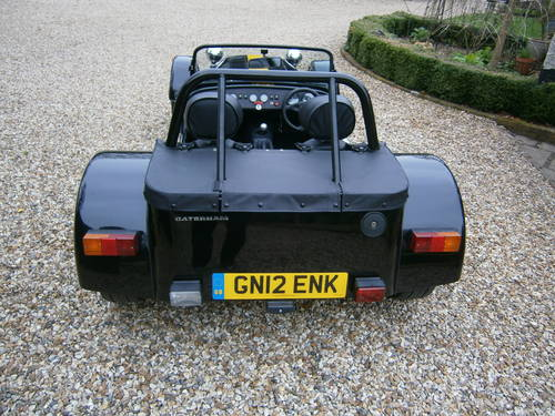 CATERHAM 7 ROADSPORT SIGMA 2012 BLACK & YELLOW  V.LOW MILES For Sale (picture 6 of 6)