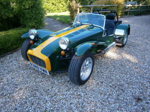 1999 CATERHAM SUPER 7 CLASSIC SE FACTORY **SOLD** ONE OWNER  L/M SOLD (picture 1 of 6)