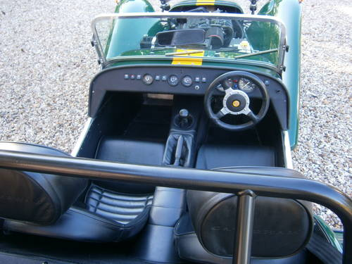 1999 CATERHAM SUPER 7 CLASSIC SE FACTORY **SOLD** ONE OWNER  L/M SOLD (picture 2 of 6)