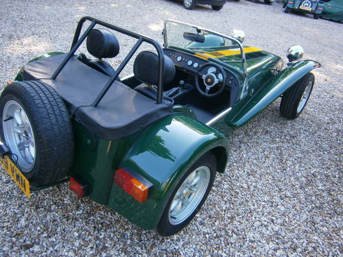 1999 CATERHAM SUPER 7 CLASSIC SE FACTORY **SOLD** ONE OWNER  L/M SOLD (picture 3 of 6)