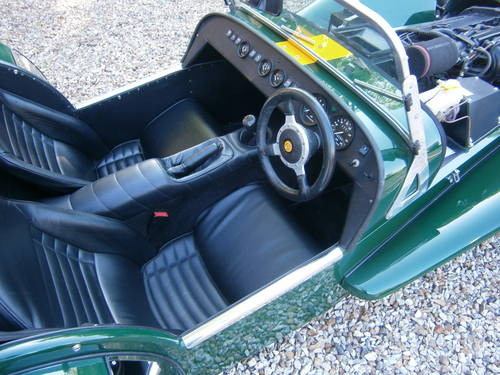 1999 CATERHAM SUPER 7 CLASSIC SE FACTORY **SOLD** ONE OWNER  L/M SOLD (picture 5 of 6)