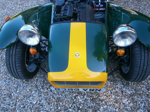1999 CATERHAM SUPER 7 CLASSIC SE FACTORY **SOLD** ONE OWNER  L/M SOLD (picture 6 of 6)