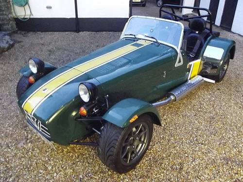 2006 CATERHAM 7 'PRISONER SERIES' ROADSPORT (Academy) SOLD (picture 1 of 6)