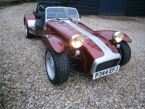 1997 CATERHAM SUPER 7 1600 40TH ANNIVERSARY MODEL 5 SPEED *SOLD* For Sale (picture 3 of 6)