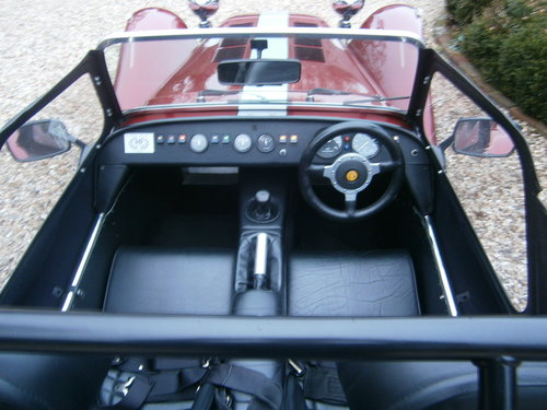 1997 CATERHAM SUPER 7 1600 40TH ANNIVERSARY MODEL 5 SPEED *SOLD* For Sale (picture 4 of 6)