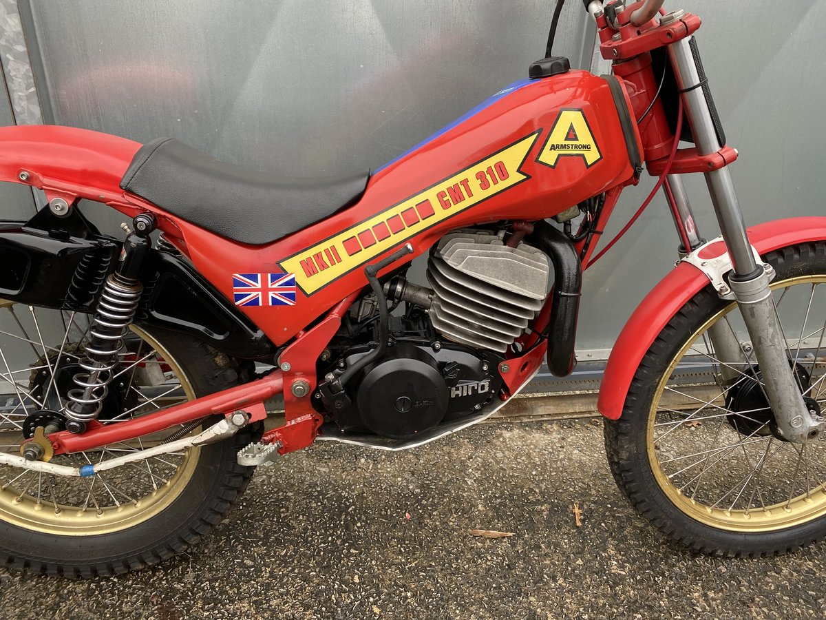 1982 CCM ARMSTRONG RARE & VERY TIDY TRIALS £2995 OFFERS PX FANTIC For Sale (picture 5 of 6)