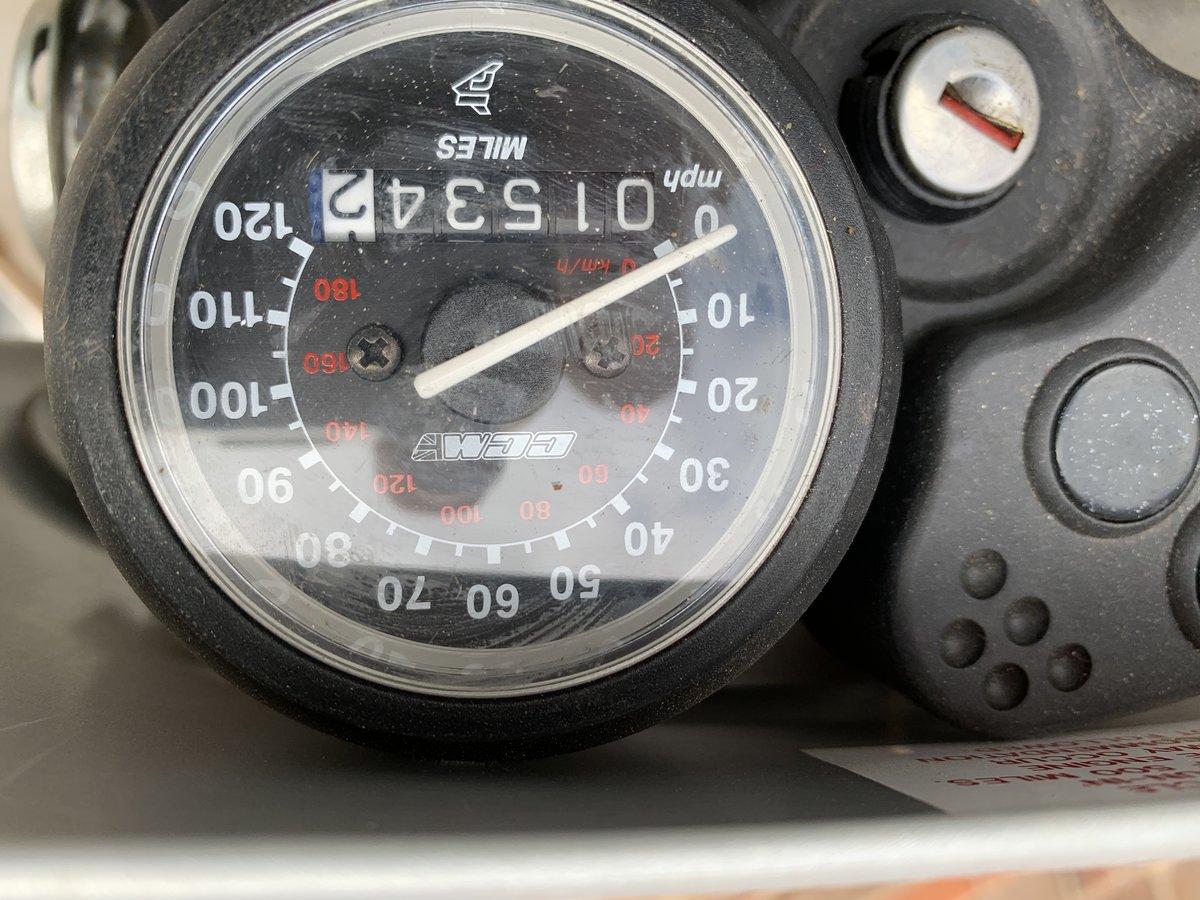 2000 CCM 604 E Sport Garage Find 1519 miles - rare find SOLD (picture 6 of 6)