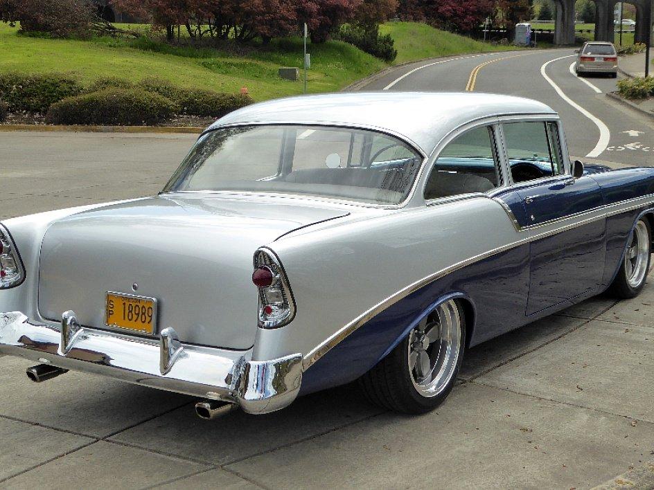 1956 Chevy 2 Door Post Belair Full Restored Zz4 Ac 79 5k For Sale