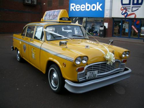 Checker Cab London >> 1980 New York Checker Yellow Taxi Cab For Hire Car And Classic