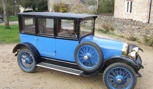 1923 1922 Chenard et Walcker Type T Saloon For Sale by Auction