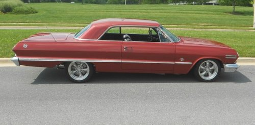 1963 Chevy Impala SS 409 Real Muscle car 4 speed 2 door SOLD (picture 6 of 6)