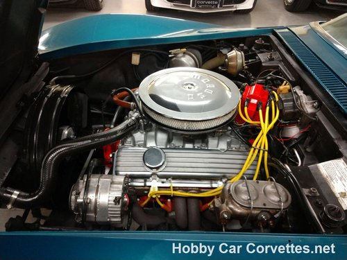 1972 Turqiouse Corvette Convertible For Sale For Sale (picture 2 of 6)