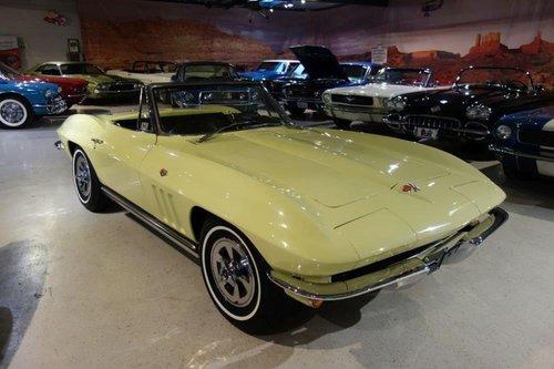 1965 Chevrolet Corvette Convertible C2 For Sale (picture 1 of 6)