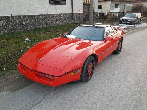 1989 Chevrolet Corvette Targa For Sale (picture 1 of 6)