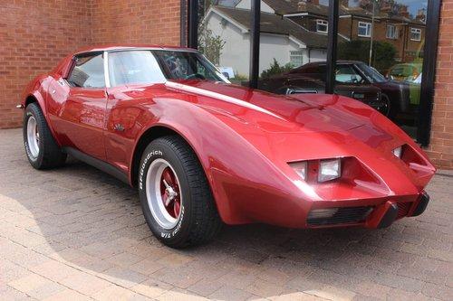 1973 Chevrolet Corvette Stingray L-48 350 V8 Auto SOLD (picture 1 of 6)