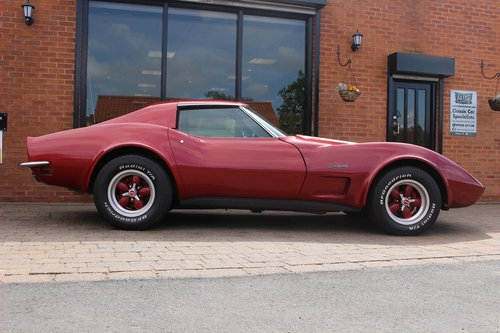 1973 Chevrolet Corvette Stingray L-48 350 V8 Auto SOLD (picture 2 of 6)