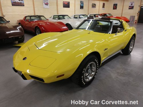 1976 Yellow Corvette L82 For Sale For Sale (picture 4 of 6)