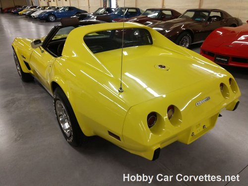 1976 Yellow Corvette L82 For Sale For Sale (picture 5 of 6)
