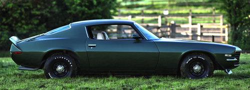 1972 Chevrolet Camaro SS 396/402 4-Speed Muncie Big Block For Sale (picture 3 of 6)