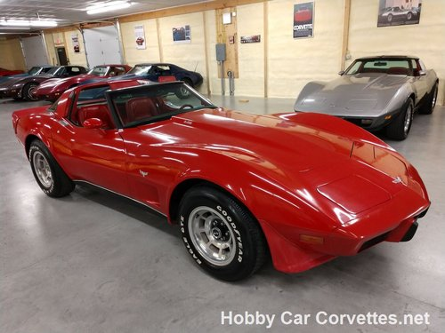 1979 Red Red Corvette L82 For Sale For Sale (picture 3 of 6)
