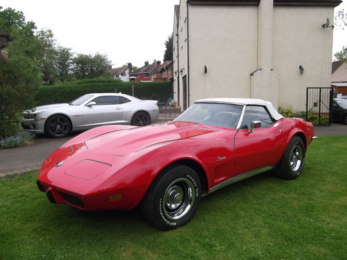 1973  Corvette Stingray C3 Convertible 350 V8 Automatic  SOLD (picture 1 of 6)