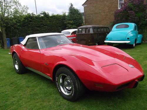 1973  Corvette Stingray C3 Convertible 350 V8 Automatic  SOLD (picture 4 of 6)