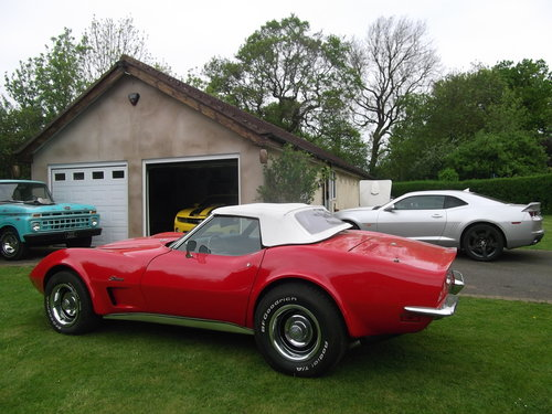 1973  Corvette Stingray C3 Convertible 350 V8 Automatic  SOLD (picture 5 of 6)
