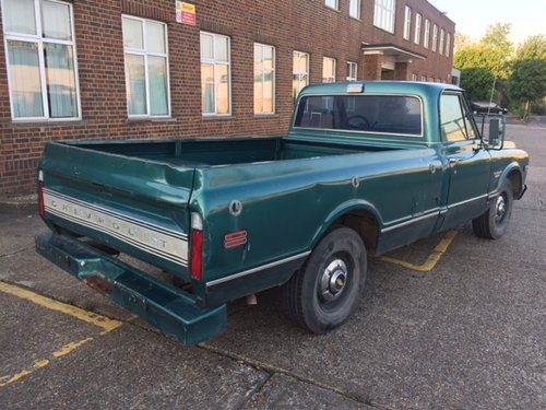 1970 Chevy C20 long bed pick up V8, auto For Sale (picture 3 of 6)