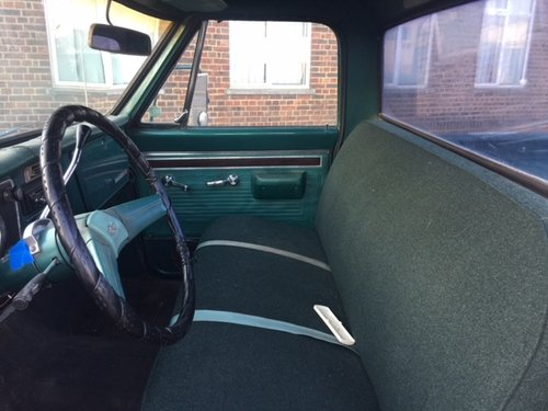 1970 Chevy C20 long bed pick up V8, auto For Sale (picture 6 of 6)