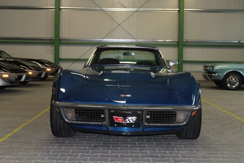 1971 Chevrolet Corvette Stingray, BIG BLOCK 454 Matching Number,  For Sale (picture 2 of 6)