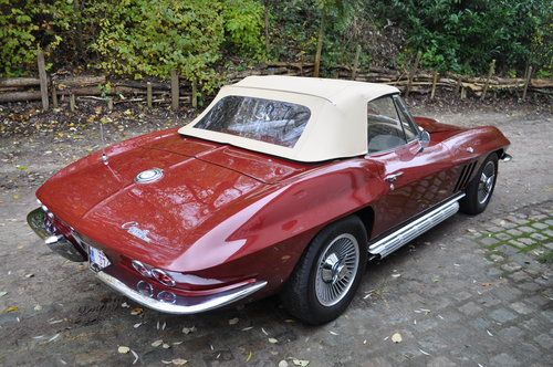 Chevrolet Corvette Sting Ray C2 Cabriolet (1965)  For Sale (picture 3 of 6)