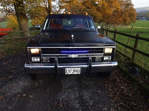 1987,  E  CHEVROLET  PICK-UP c-30 Scotsdale 4 door king cab  For Sale (picture 1 of 6)