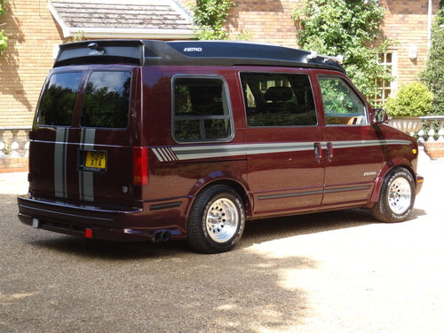 1995 Chevy Astro Day Van with LPG  NOW SOLD For Sale (picture 2 of 6)
