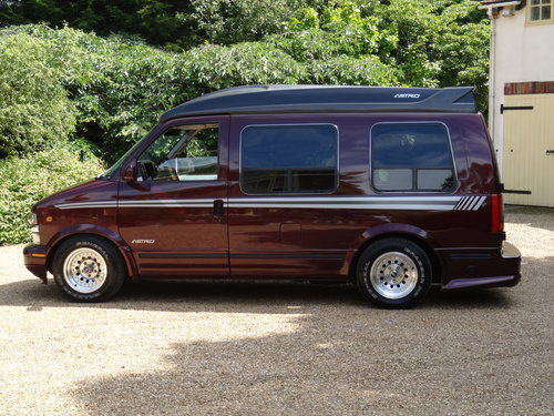 1995 Chevy Astro Day Van with LPG  NOW SOLD For Sale (picture 3 of 6)