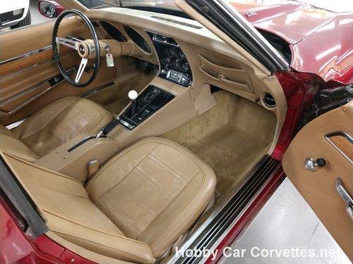1973 Dark Red Corvette For Sale For Sale (picture 4 of 6)